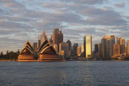 Lever Soleil Opéra Sydney