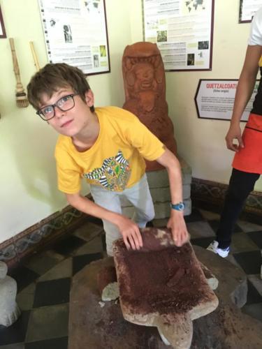 Louis & le cacao au musée