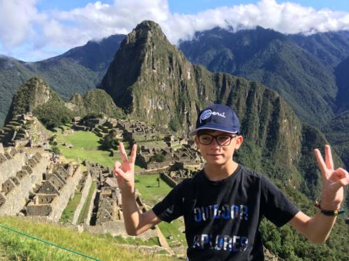 Louis Machu Picchu