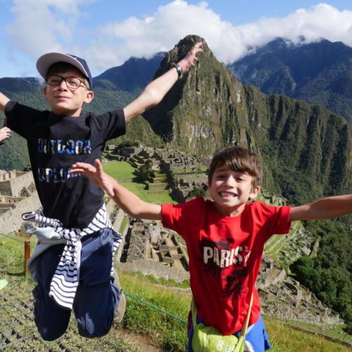 Louis et Esteban Machu Picchu