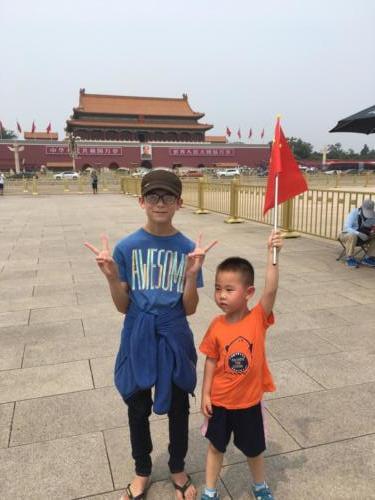 Louis et le Chinois