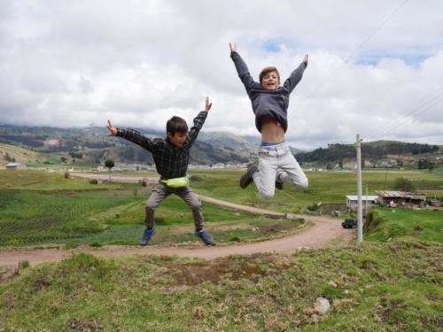 Luis y Esteban, Cajabamba