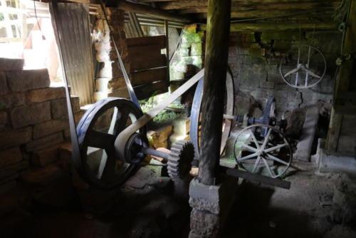 Mécanisme roue à eau