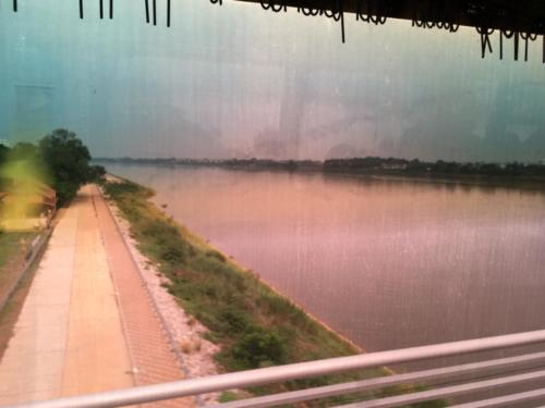 Mékong frontière Tailande Laos