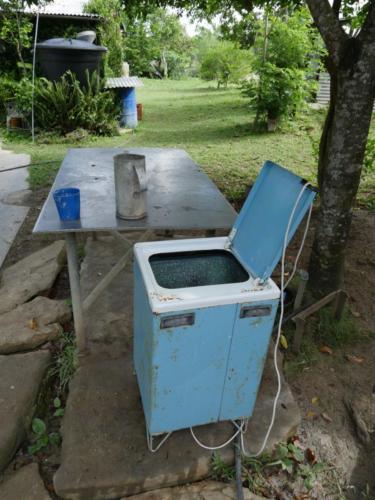 Machine à laver 1978, Finca del medio