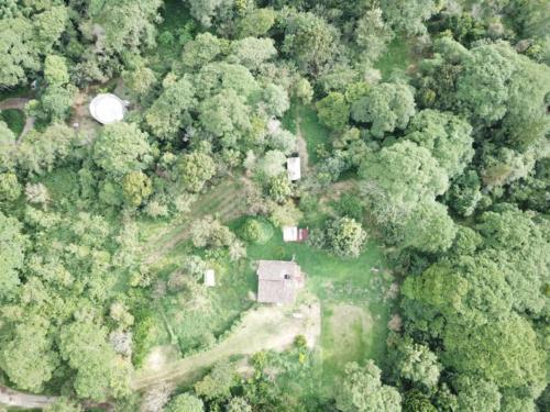 Maison autonome vue du ciel 2