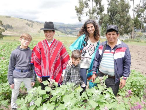 Manuel & Permaculture Family
