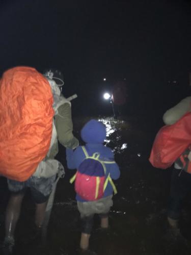 Marche de nuit Esteban