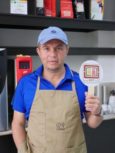 Marco, dégustateur de café bio et SPP