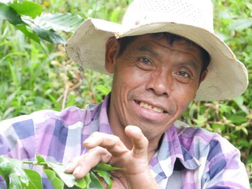 Martin, producteur café, Apodip