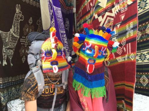 Masque Chamane, Otavalo