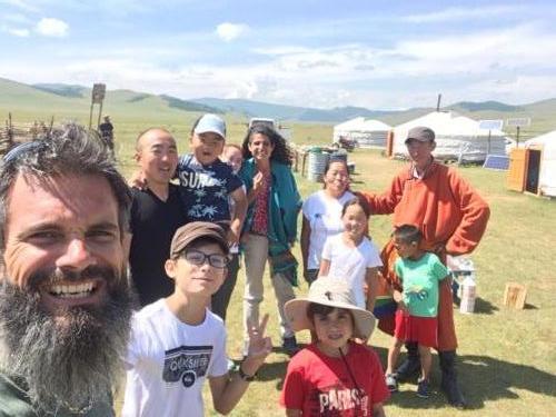 Notre famille mongole