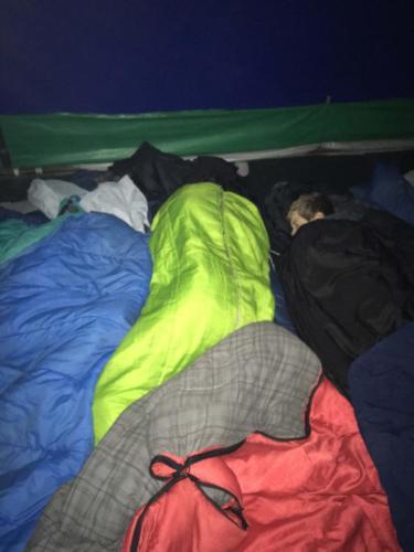 Nuit en tente à 3600m, Acatenango