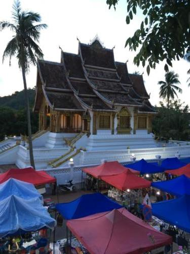 Palais royal et night market, Luang Prabang