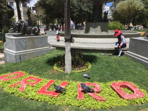 Parque Centrale Oruro