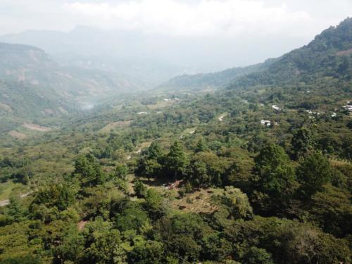 Paysage montagnes Chiapas