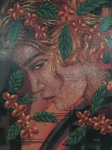 Peintre Marcala Café COMSA