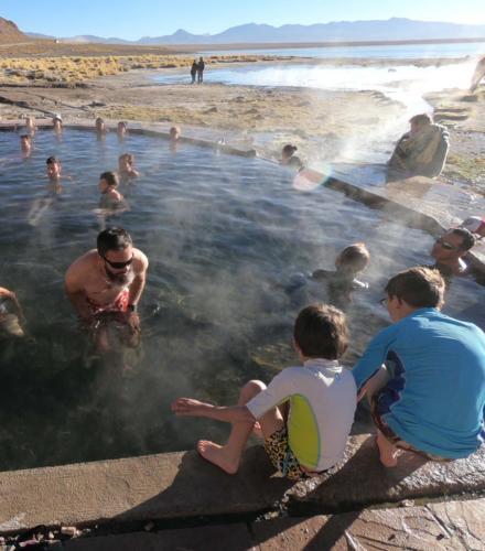 Piscine eaux thermales 37°C