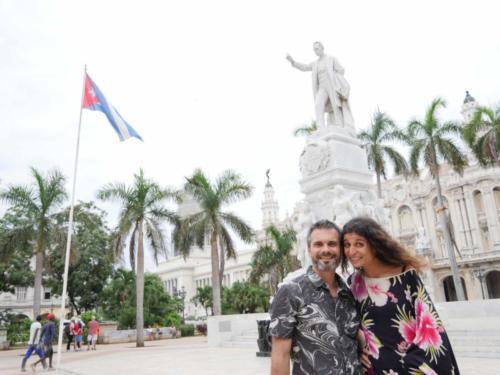 Plaza José Marti, le fondateur de Cuba