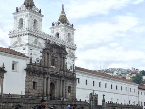 Plaza San Fransisco, Quito