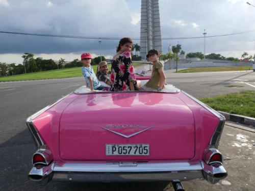 Plaza de la Revolucion en Chevrolet 1957