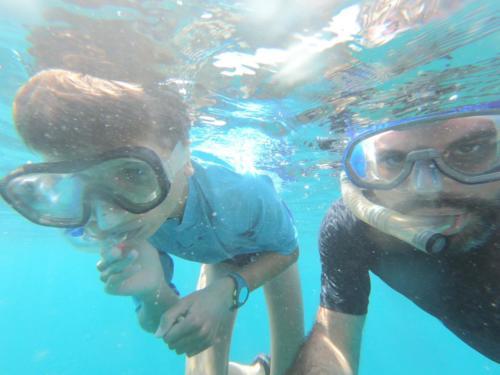 Louis et Stéphane en plongée à Trinidad