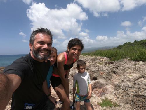 Plongée en famille à Trinidad