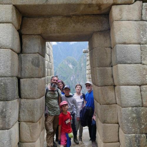 Porte du soleil, Machu Picchu