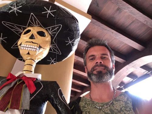 Préparation Dia de los muertos, San Cristobal de las Casas