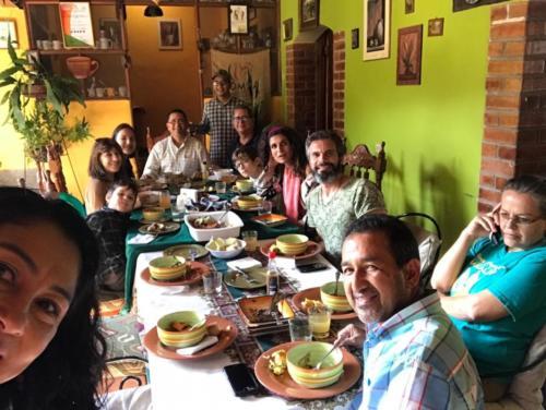 Repas dominical chez Romel COMSA (2)