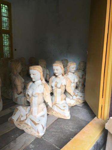 Restauration statue