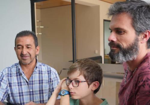 Rodolfo, Louis et Stéphane