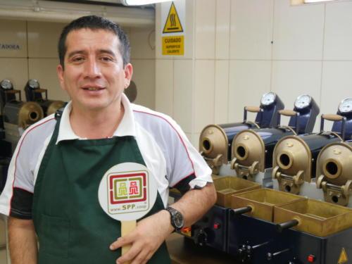 Rodolfo, catador de café SPP