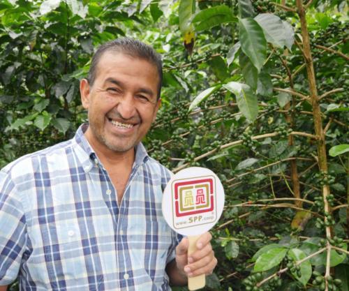 Rodolfo, gérant COMSA Honduras