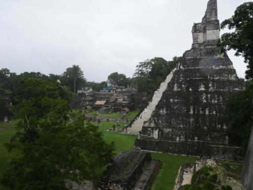 Site principal, Tikal