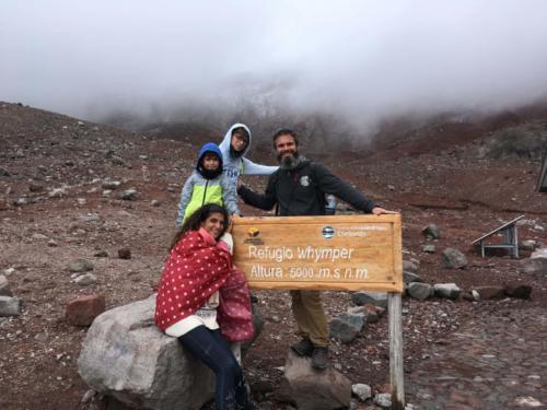 Sommet 5000 m Chimborazo