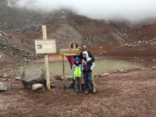Sommet 5100m Chimborazo