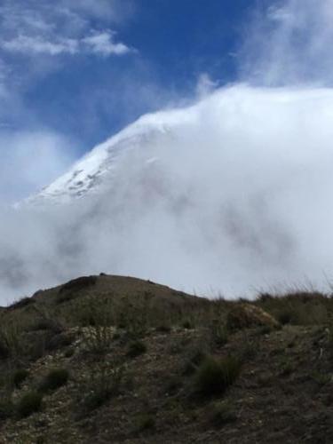 Sommet enneigé Chimborazo