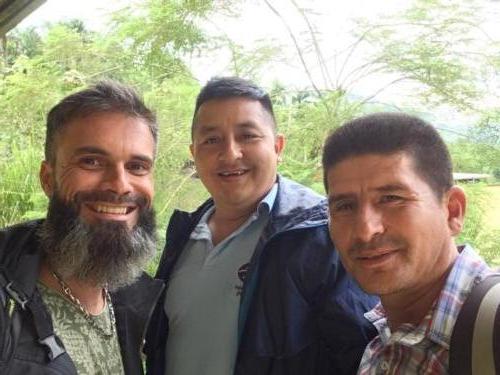 Stéphane, Camilo et Harvey, Apecap
