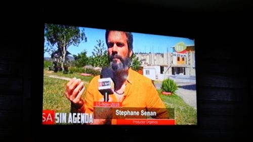 Stéphane à la TV Marcala