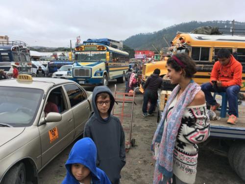 Station de bus de Huehuetenango