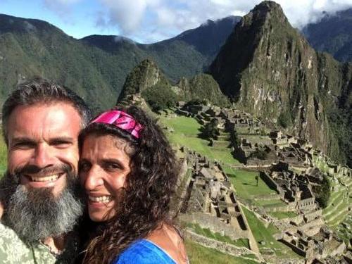 Stef et Alexa Machu Picchu