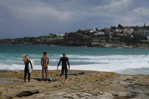 Surfers Bondi Beach