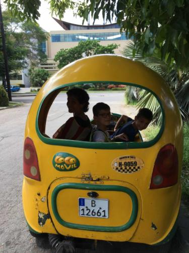 Taxi Coco Movil, La Habana