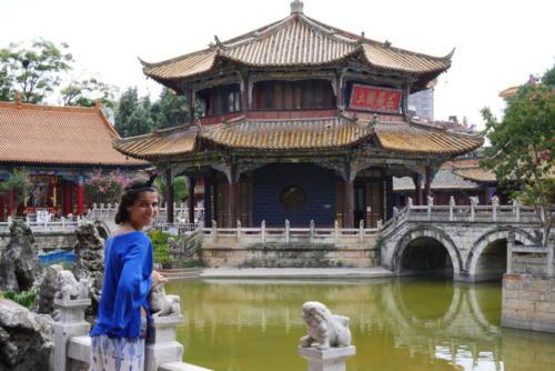 Temple Yuan Tong, Kunming (1)