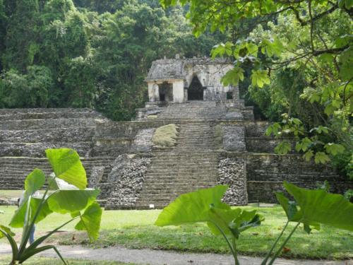 Temple de Palenque, Chiapas