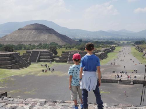 Teotihuacan, les 2 frères