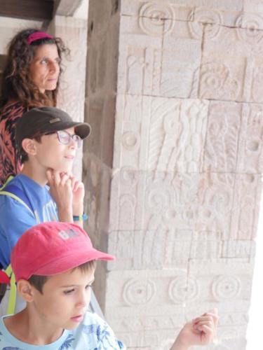 Teotihuacan en famille3
