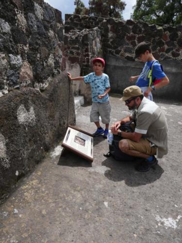 Teotihuacan en famille4