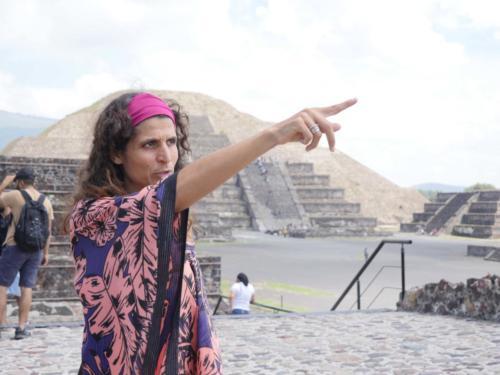 Teotihuacan et Alexa
